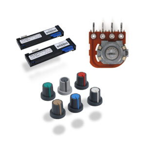 Faders, Potentiometers & Knobs